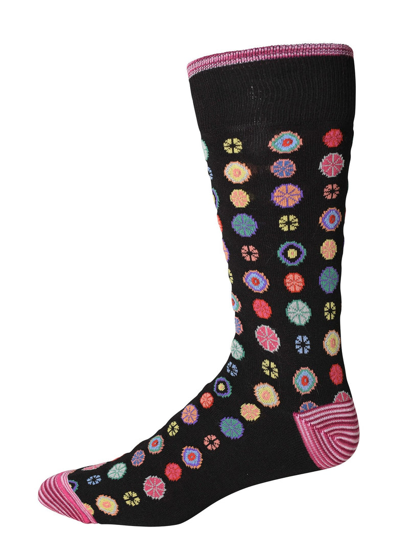 Robert Graham Socks - Fruit Cocktail Black