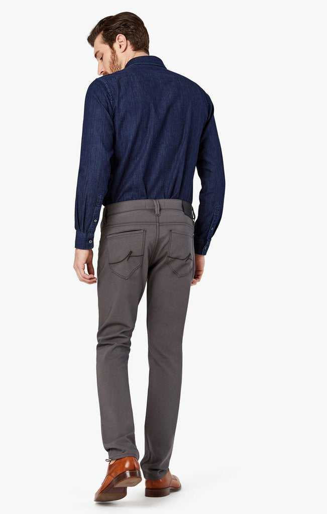 34 Heritage Charisma Relaxed Straight Commuter Pants In Graphite