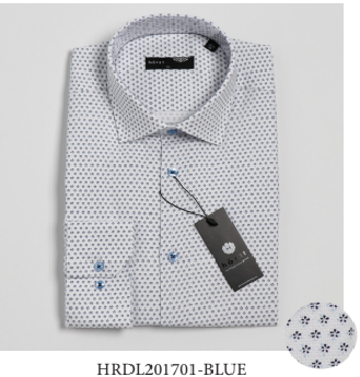 Horst - Dress Shirt - HRDL201701 - BLUE