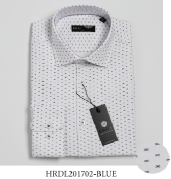 Horst - Dress Shirt - HRDL201702 - BLUE