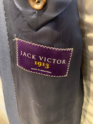 Jack Victor Suit - Essence CT Shark Skin Blue