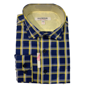 Isaac Mizrahi - Royal & Navy Plaid
