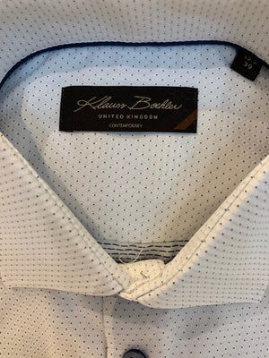Klauss Boehler - Dress Shirt - KLDL192753 - White/Blue