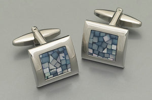 Cufflinks - L7200 Mother of Pearl