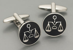 Cufflinks - Scales of Justice
