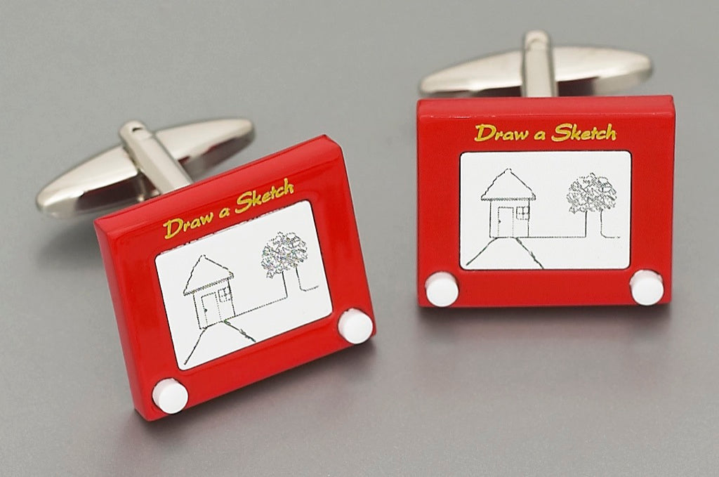 Cufflinks - 'Draw' a Sketch
