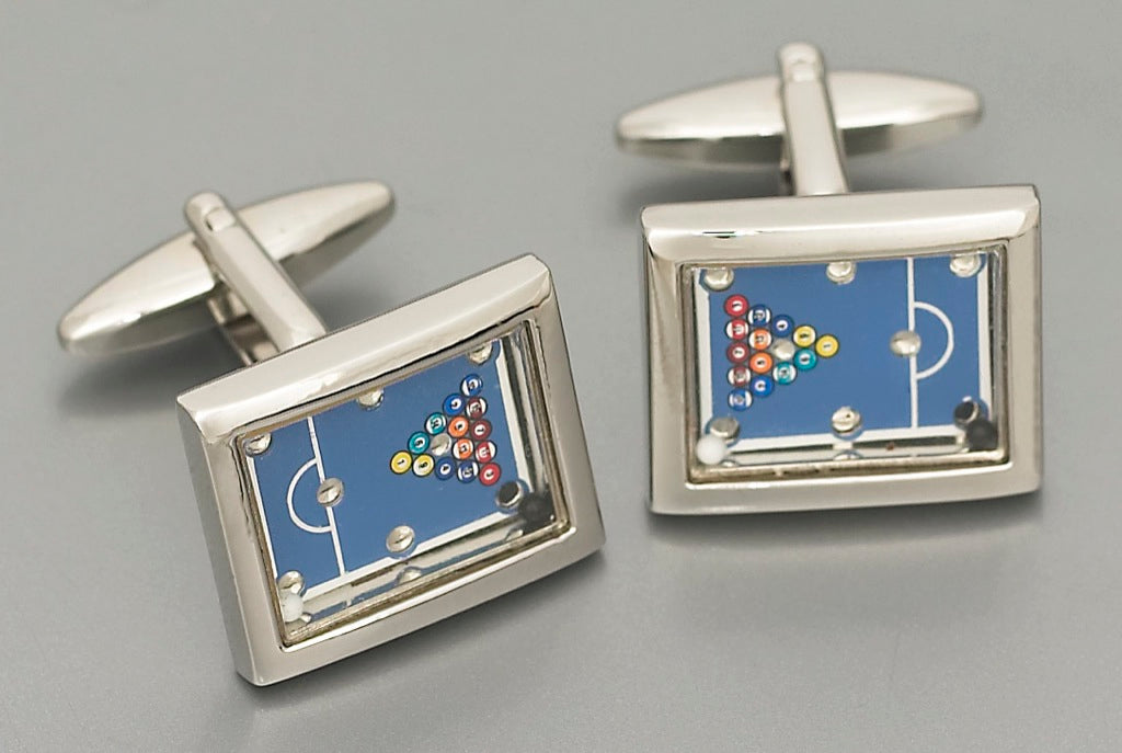 Cufflinks - Pool Table