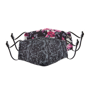 BONDSTREET Adult Mask (Lace + Floral) -  Adult