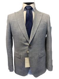 Jack Victor Men's Suit - Engel CT Light Grey Wool Made in Canada BNWT