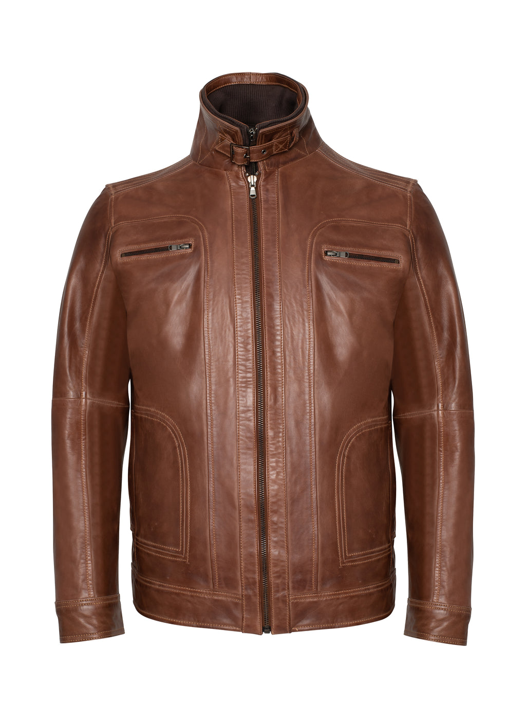 Lamarque - Leather Jacket Camel