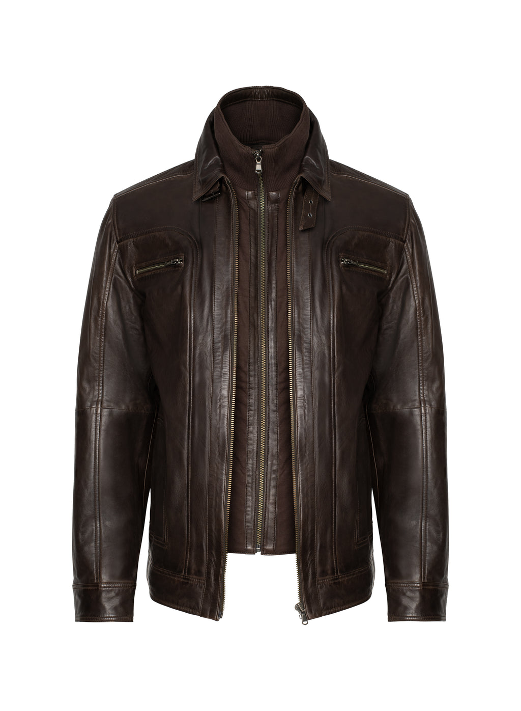 Lamarque - Leather Jacket Dark Brown