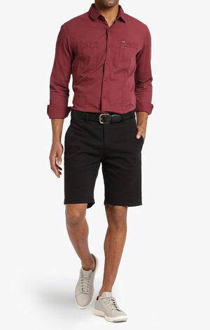 34 Heritage - Nevada - Black Twill Shorts
