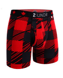 2UNDR Mens Luxury Underwear Swing Shift Boxer Briefs O'Canada