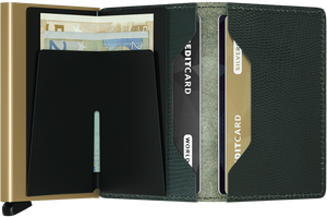 Secrid - Slim Wallet Rango Green-Gold