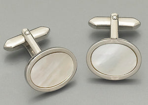 Cufflinks - P888W Mother of Pearl