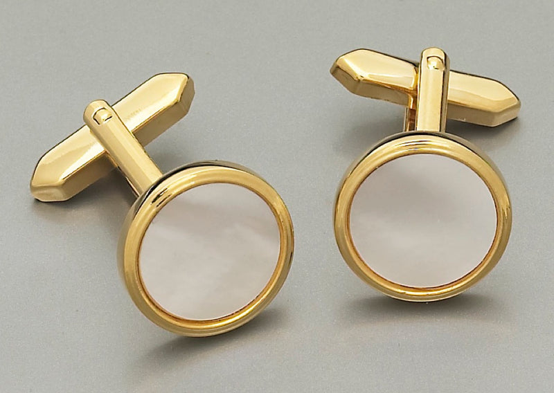 Cufflinks - P889 Mother of Pearl