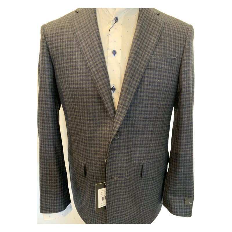 Clearance - Sports Jacket - Paul Betenly - Charcoal Check