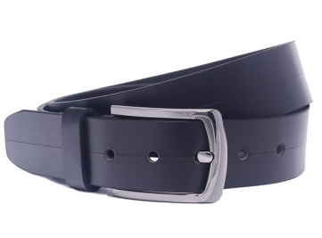 OHM Leather New York Casual Belt with Perforation Tech