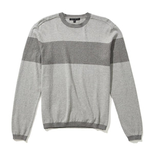 Robert Barakett - Men's Cashmere Canterbury Sweater - Pearl Grey