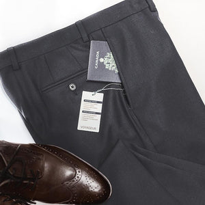 Mid Grey Voyageur Travel Pants • Modern Fit by Riviera