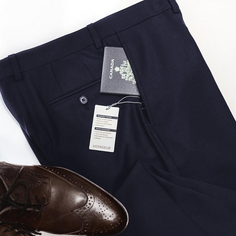 Navy Voyageur Travel Pants • Modern Fit by Riviera