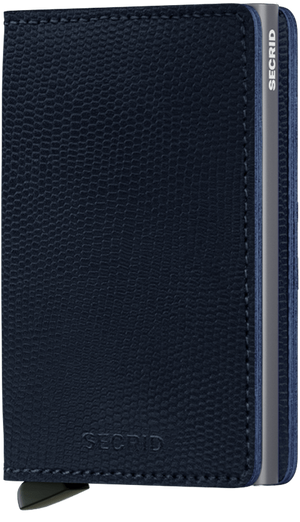 Secrid - Slim Wallet Rango Blue Titanium