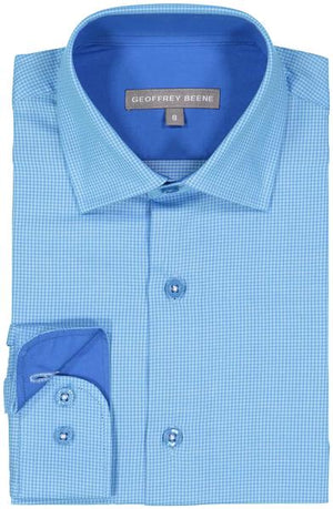 Geoffrey Beene - Blue- Boys Shirt