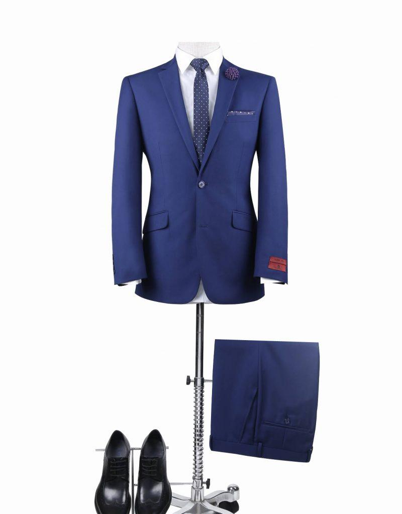 Renoir Royal Blue Suit – Slim
