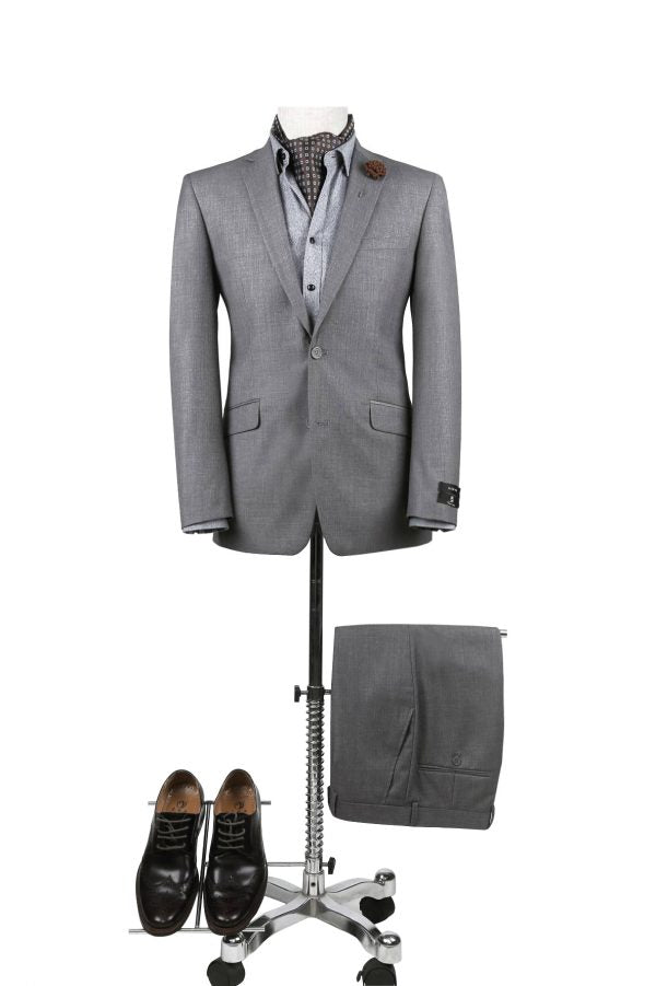 Renoir Medium Grey Suit – Slim