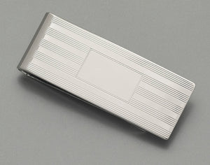 Money Clip - Sterling Silver SMC761