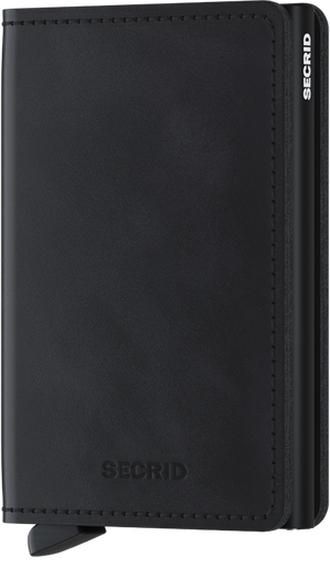 Secrid - Slim Wallet Vintage Black