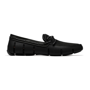 Swims - Braided Lace Loafer - Black