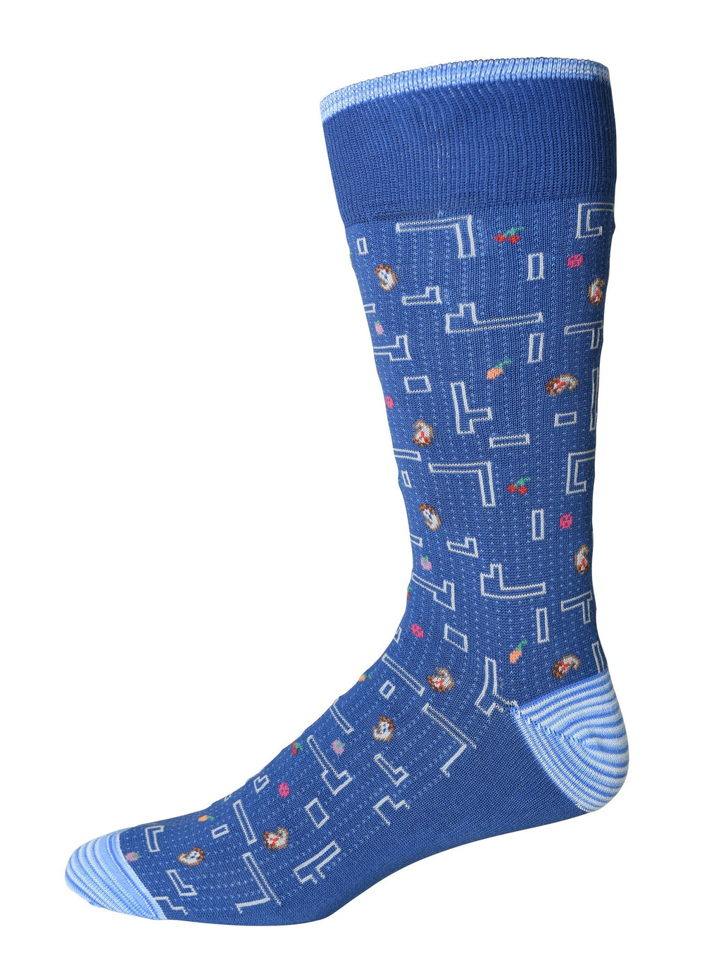 Robert Graham Socks - Victory Lane Blue
