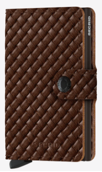 Secrid - Mini Wallet Basket Brown