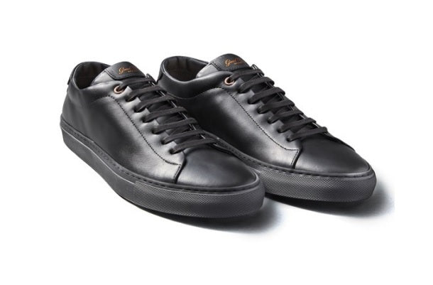 Good Man Brand - EDGE LO-TOP SNEAKER - BLACK