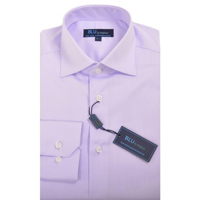 Polifroni Dress Shirt - Blu-360 Miami (slim fit) - Lavender