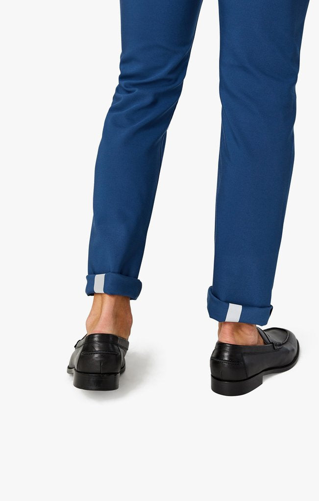 34 Heritage - Courage Straight Leg Commuter Pants In Cobalt