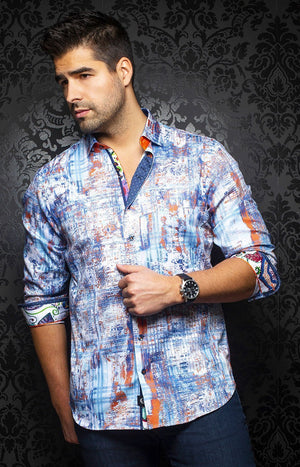 Au Noir - Casual Shirt - Cruz - Light Blue
