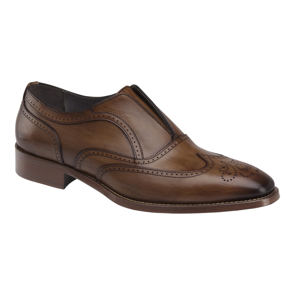 Johnston & Murphy - CORMAC WINGTIP SLIP-ON