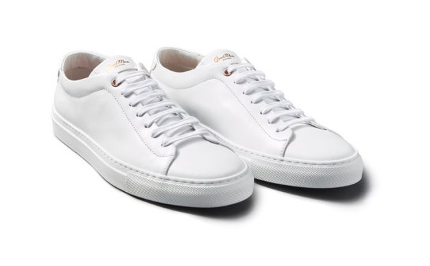 Good Man Brand - EDGE LO-TOP SNEAKER - WHITE