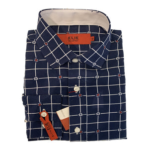 Elie Balleh - Navy Plaid