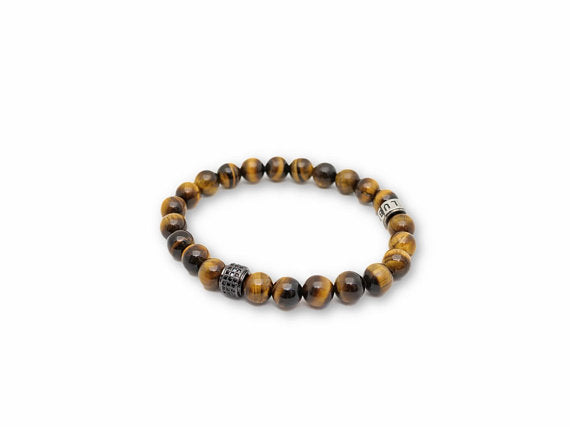 Lia Lubiana - Men's Bracelet - Tiger's Single