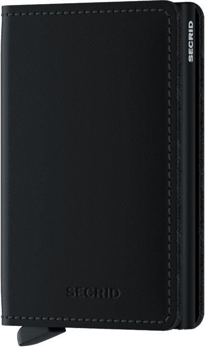 Secrid - Slim Wallet Matte Black