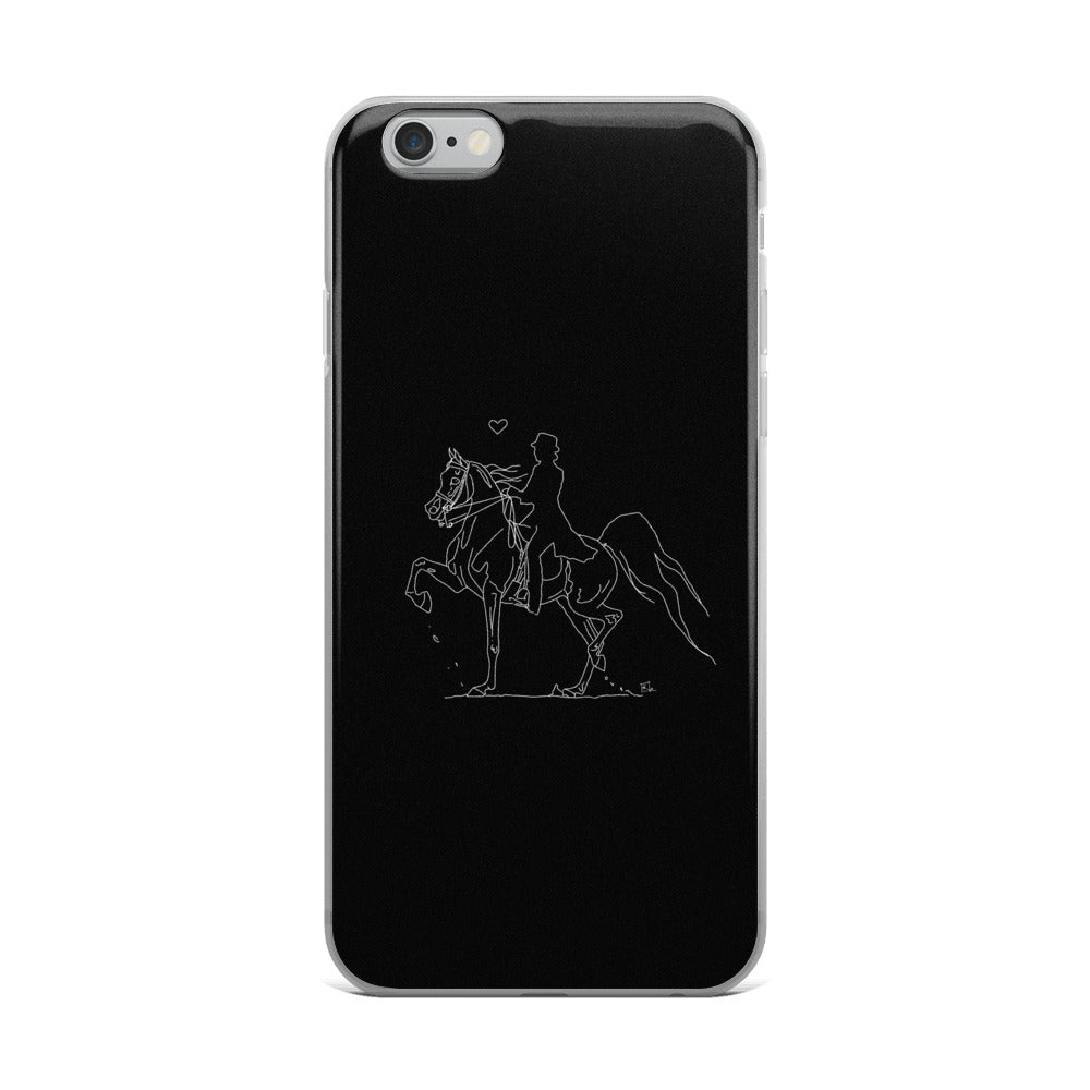 English Heart - iPhone Case
