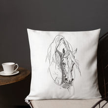 Load image into Gallery viewer, Western Arabian - throw pillow