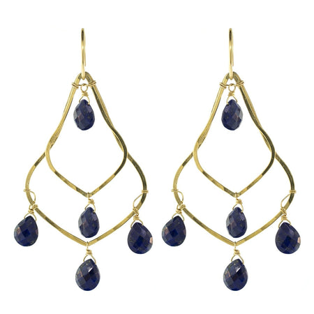 Kat Chain Drop Earrings