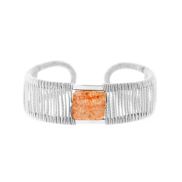 Lot's O' Rock 1-Stone Twist Cuff