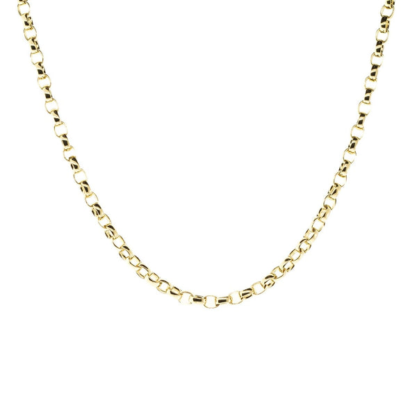 "Rolo Chain Necklace- 18"" QUICK SHIP"