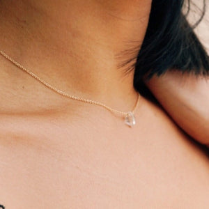 Herkimer Diamond Elsy Necklace