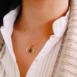 Rock Drop Elean Necklace- QUICK SHIP